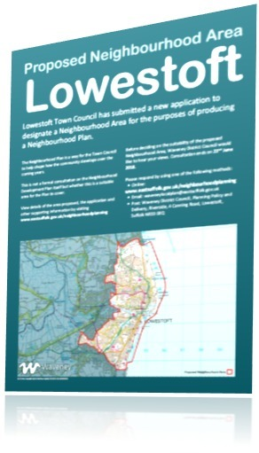 Lowestoft Site Notice for iNovem